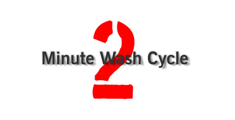 Cleanprint Bioclean - 2 minute washing cycle